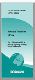 OA 7th tradition phamplet